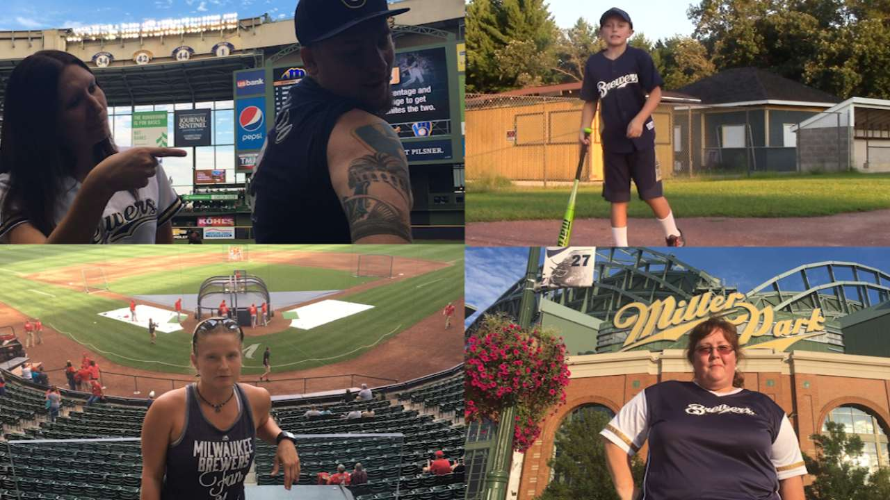 Cheer on: Vote for the Brewers' top fan of 2016