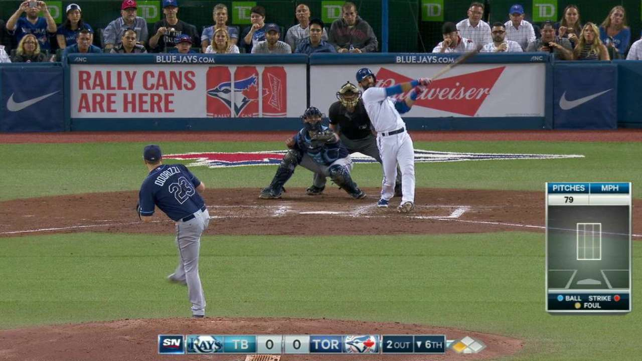 Bautista finding vintage form at right time