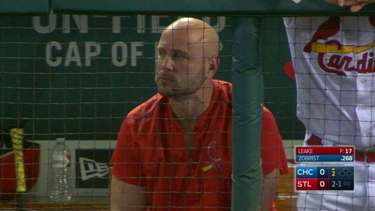 Holliday takes BP with no issues