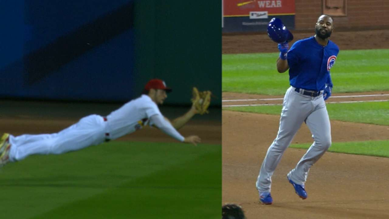 Grichuk's great diving catch