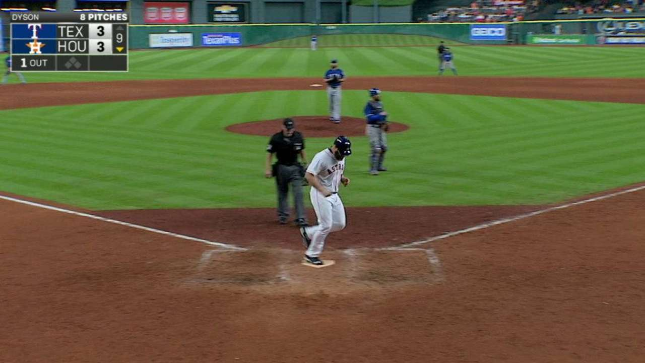 Gattis' mammoth game-tying homer