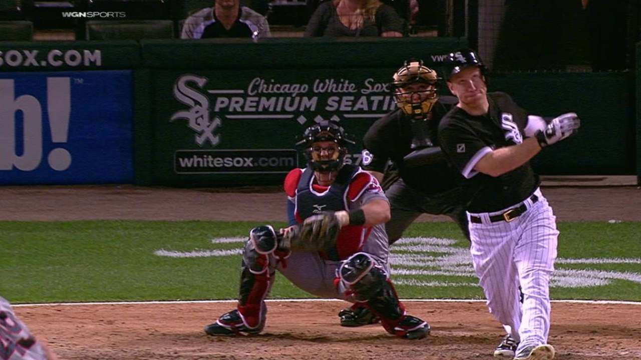 Frazier's jack helps White Sox make history