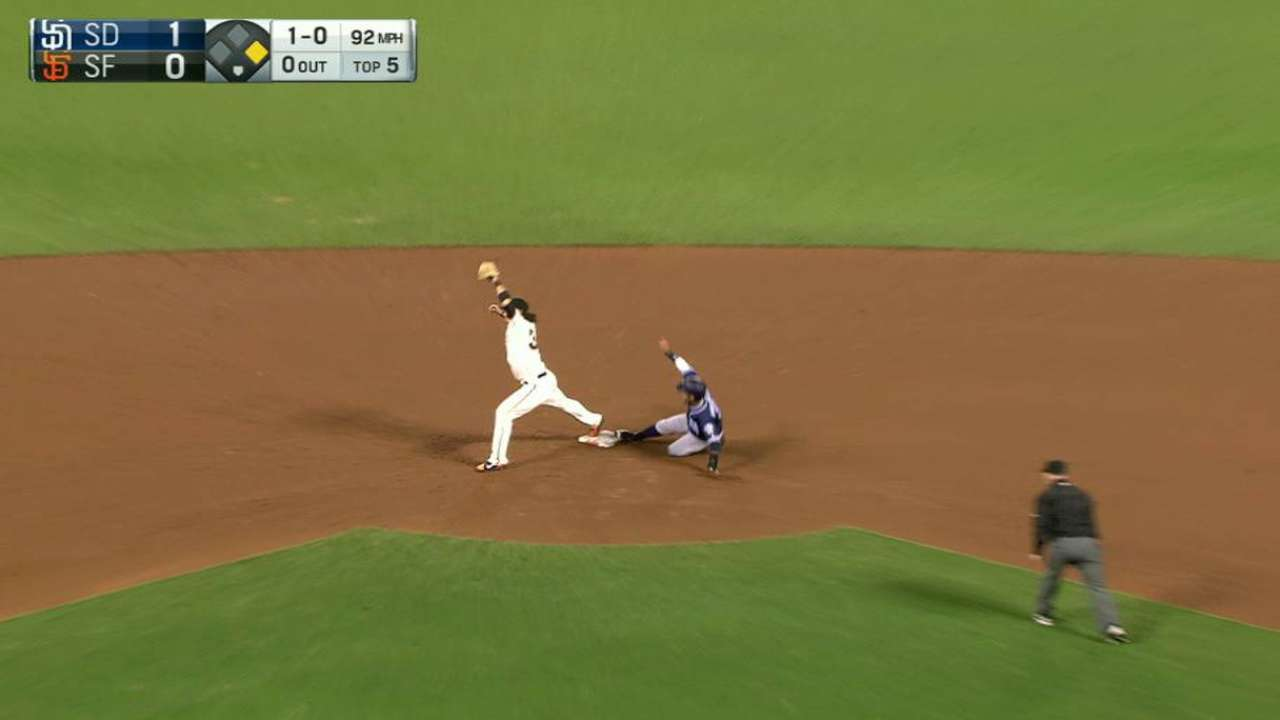 Posey's great play in the 5th