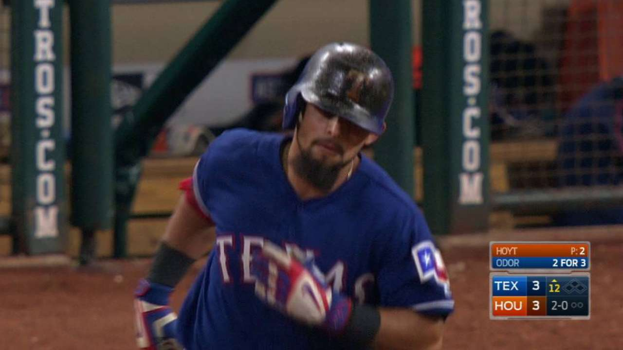 Odor's go-ahead homer in 12th