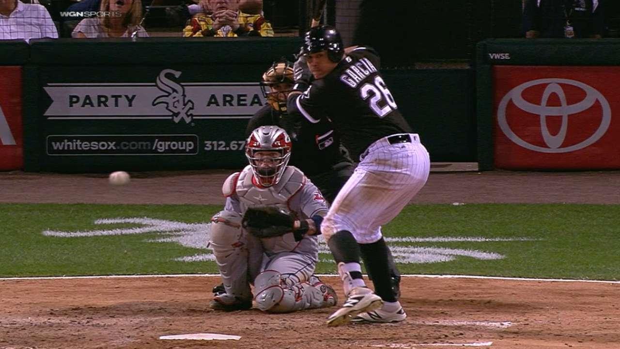 Garcia's four-hit game