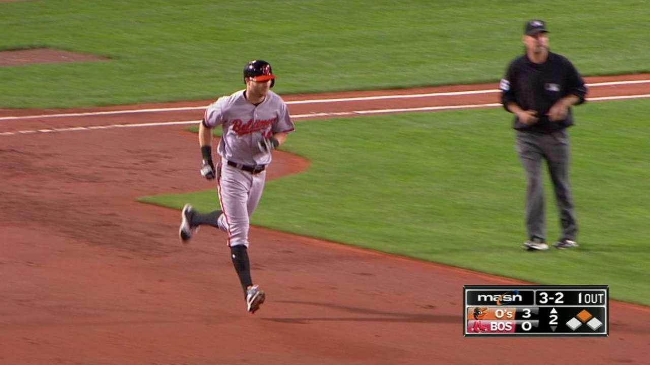 Reimold's two-run homer