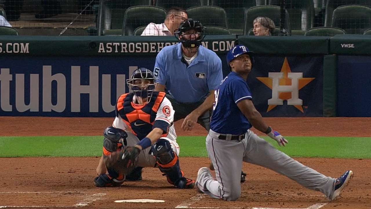 Beltre's 30th homer of the year
