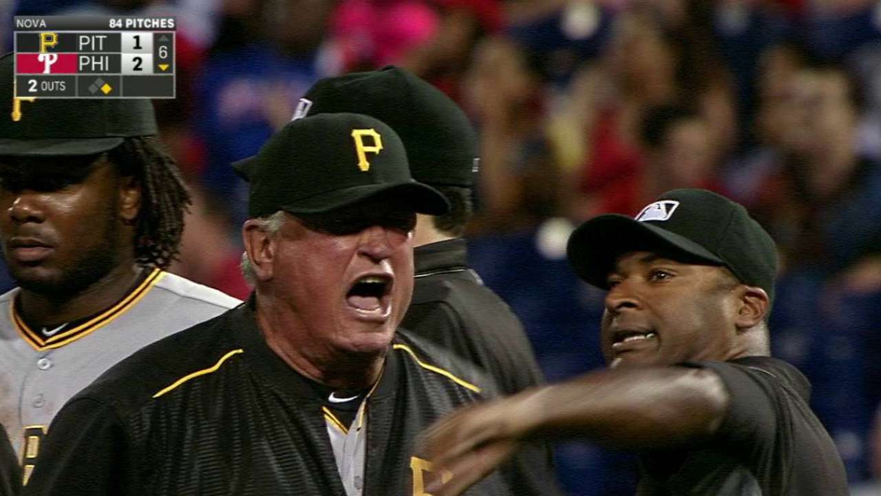 Hurdle tossed for arguing ump interference
