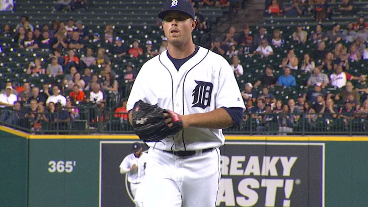 Tigers send three pitchers to Minor Leagues