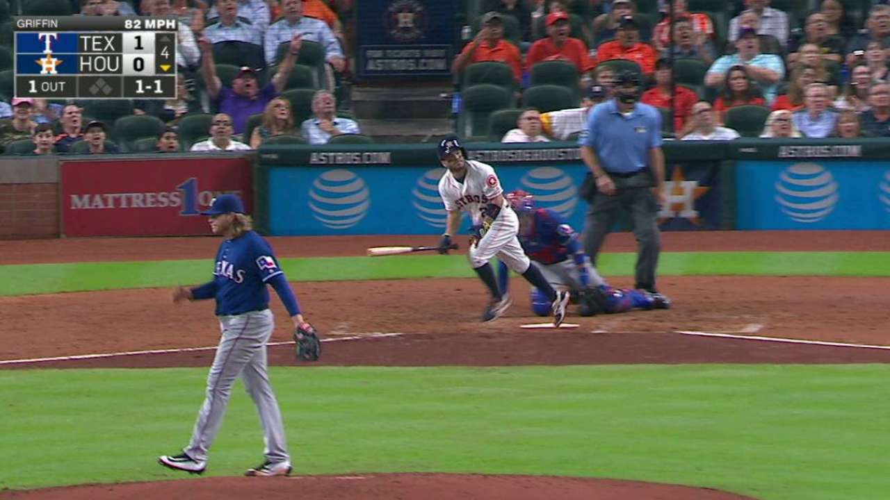 Altuve busts slump with 24th HR in 3-hit night