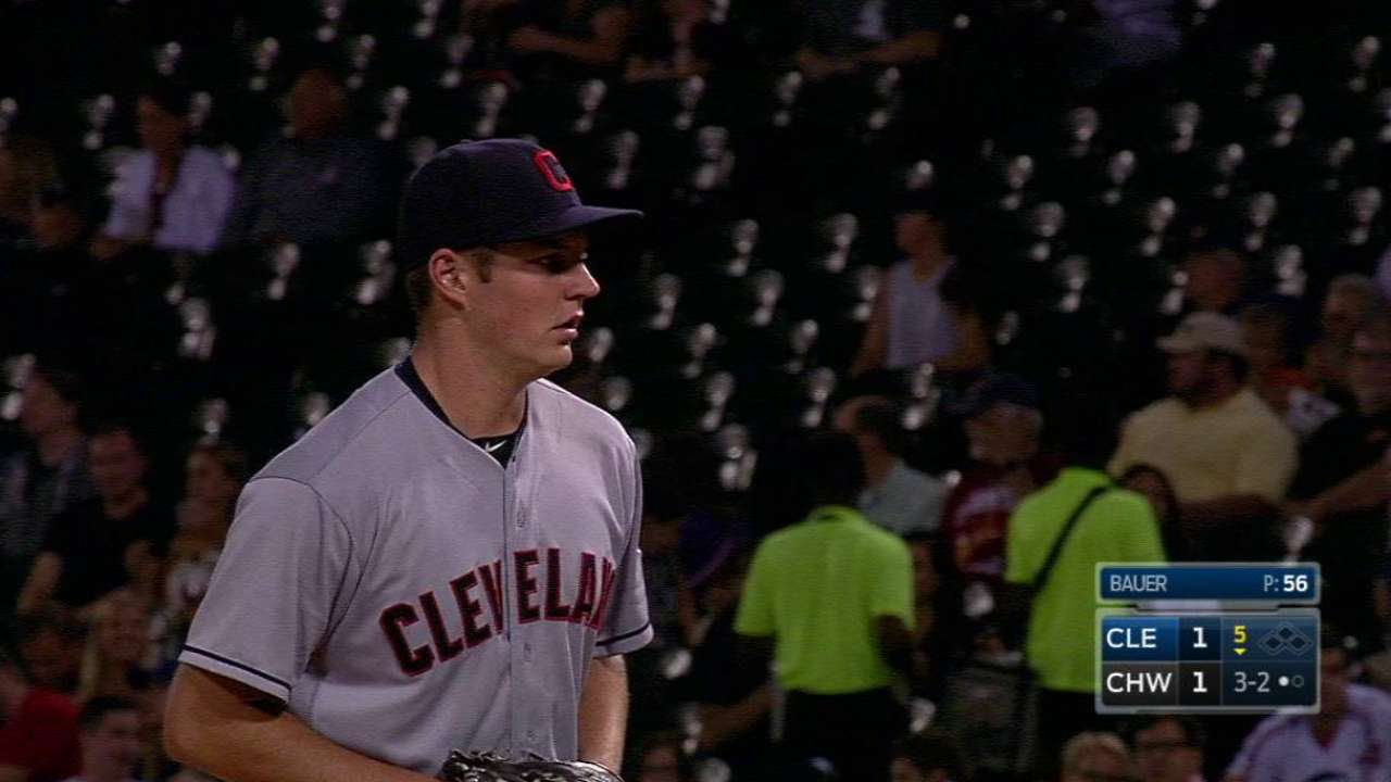 Bauer: Stuff vs. White Sox best of entire year