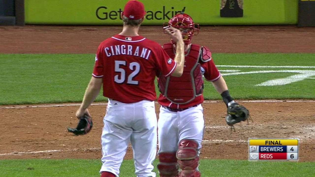 Cingrani's struggles vs. first batter continue