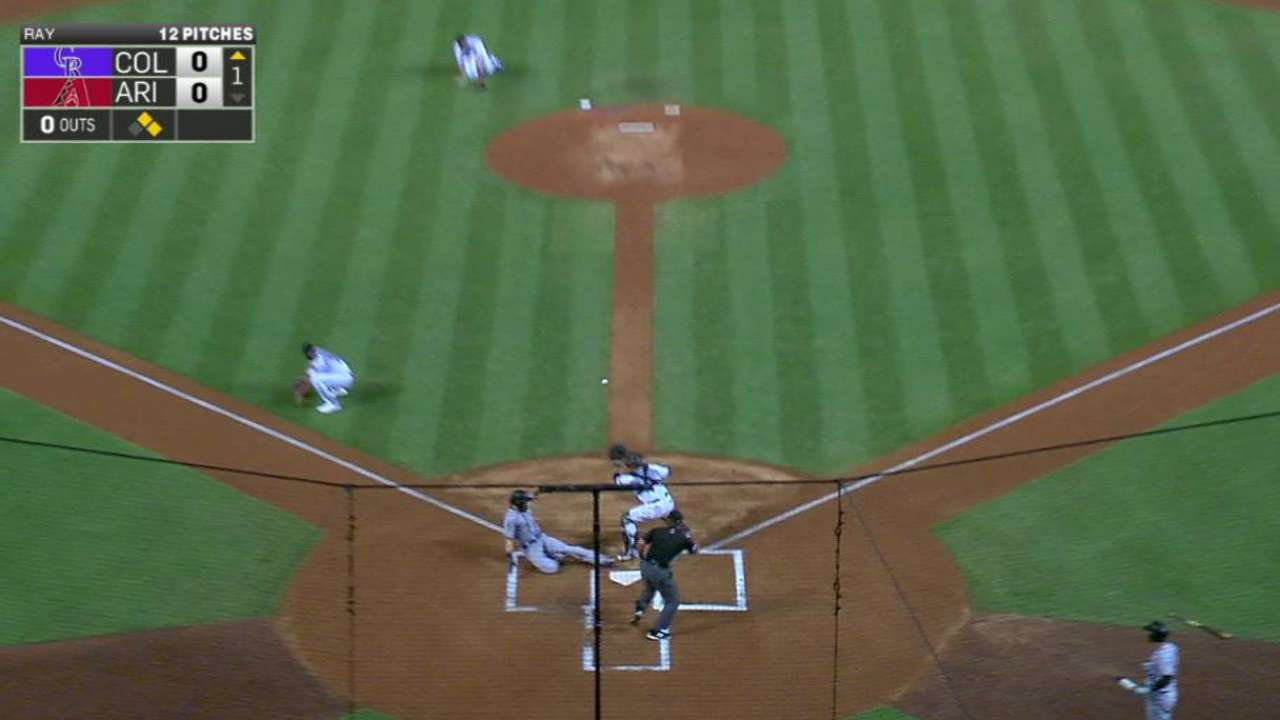 LeMahieu's RBI double in the 1st