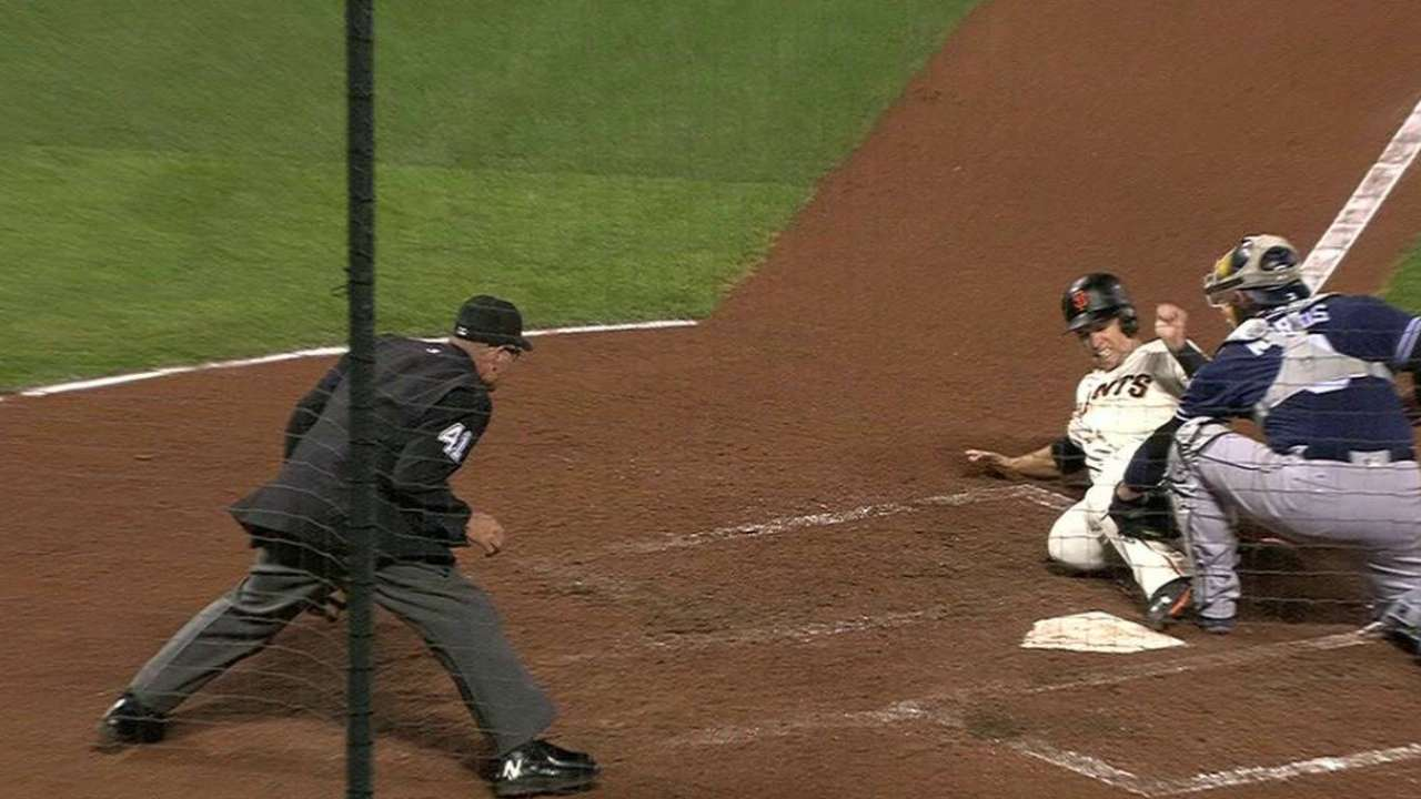 Myers nabs Posey at home