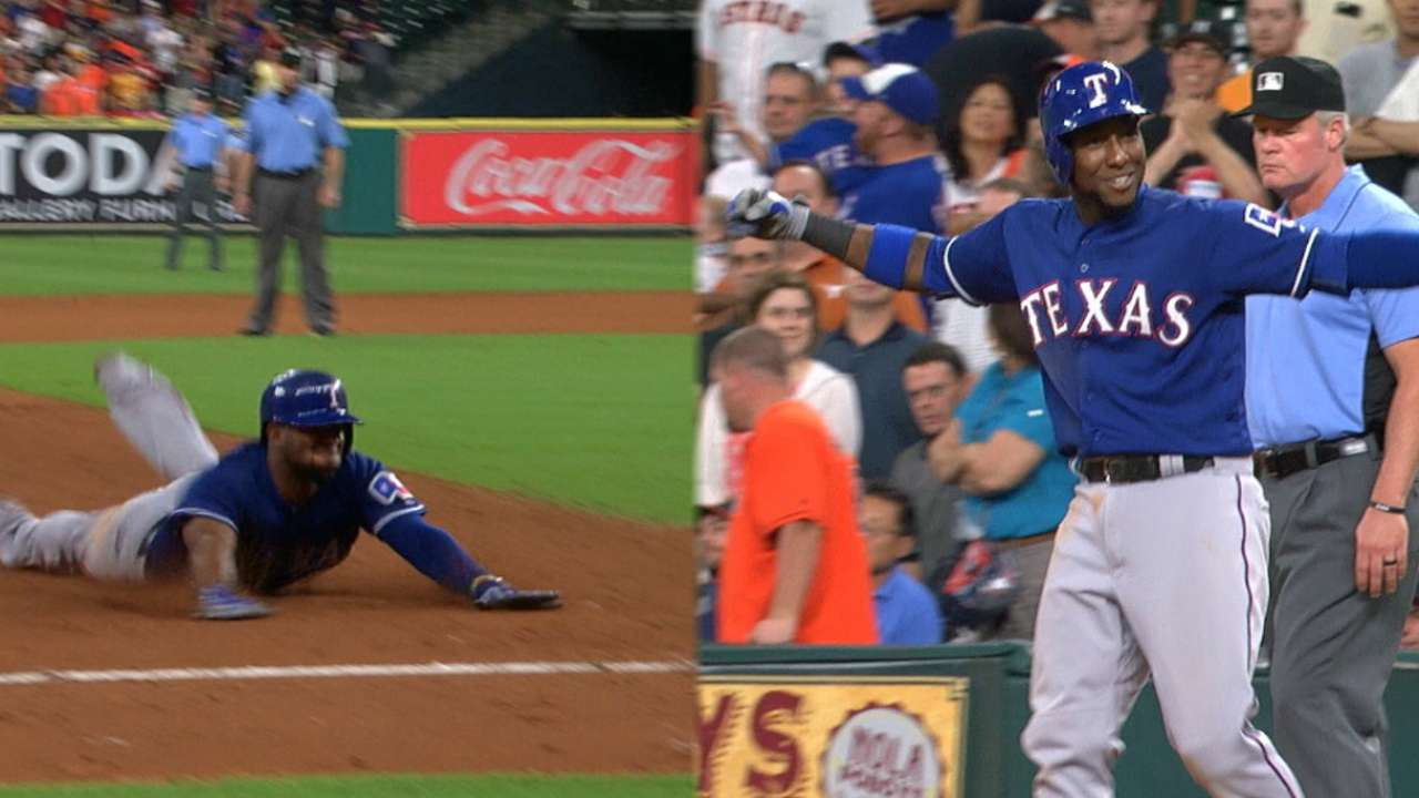 Wild pitch sparks Texas' wild rally vs. Astros