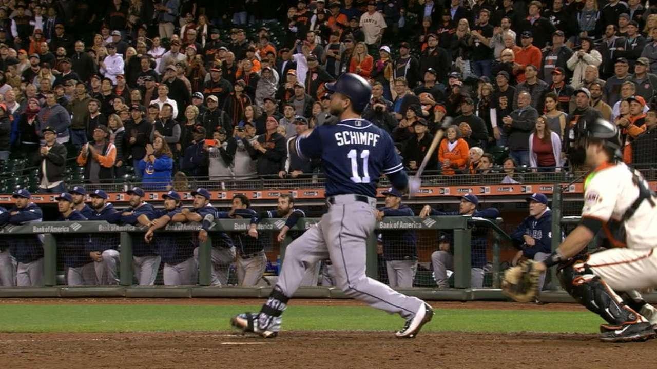 Schimpf's clutch go-ahead homer
