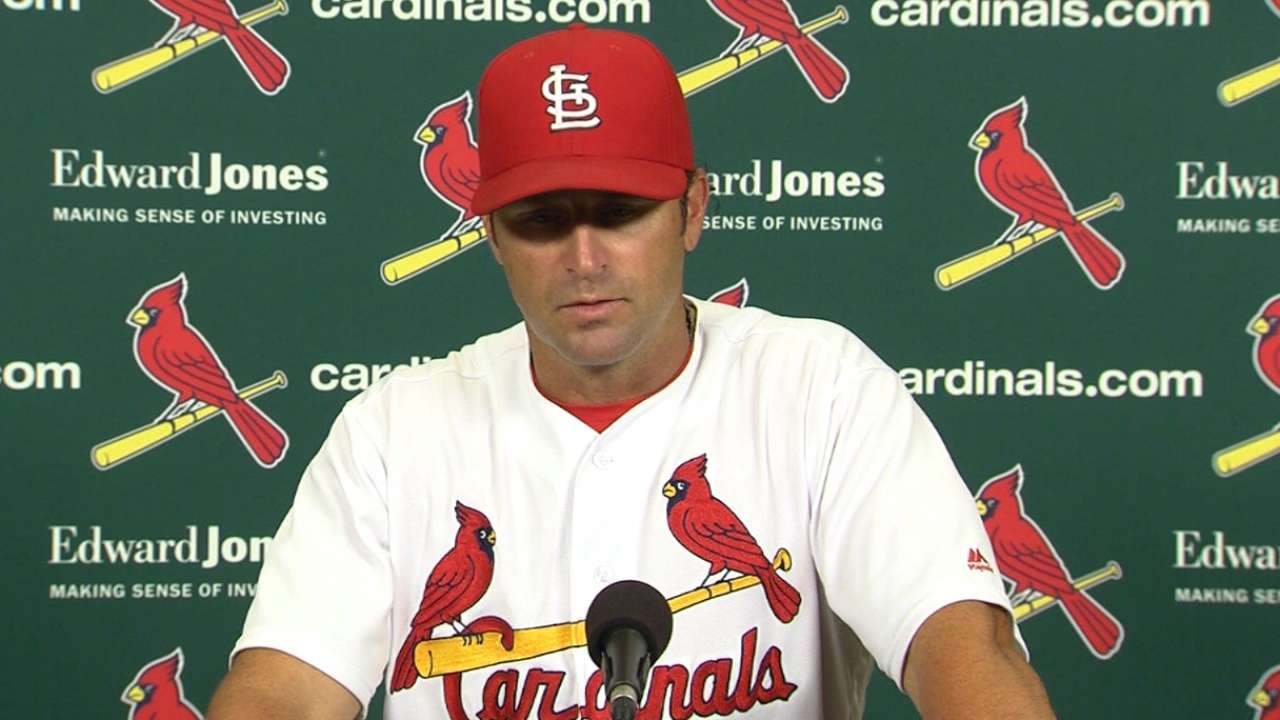 Matheny on 7-0 loss to Cubs