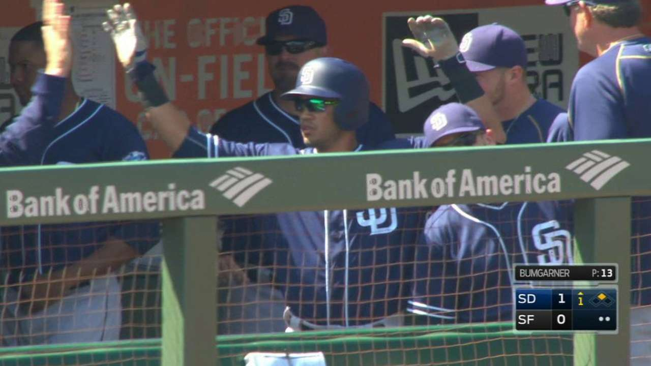 Padres sweep, but Giants maintain WC spot