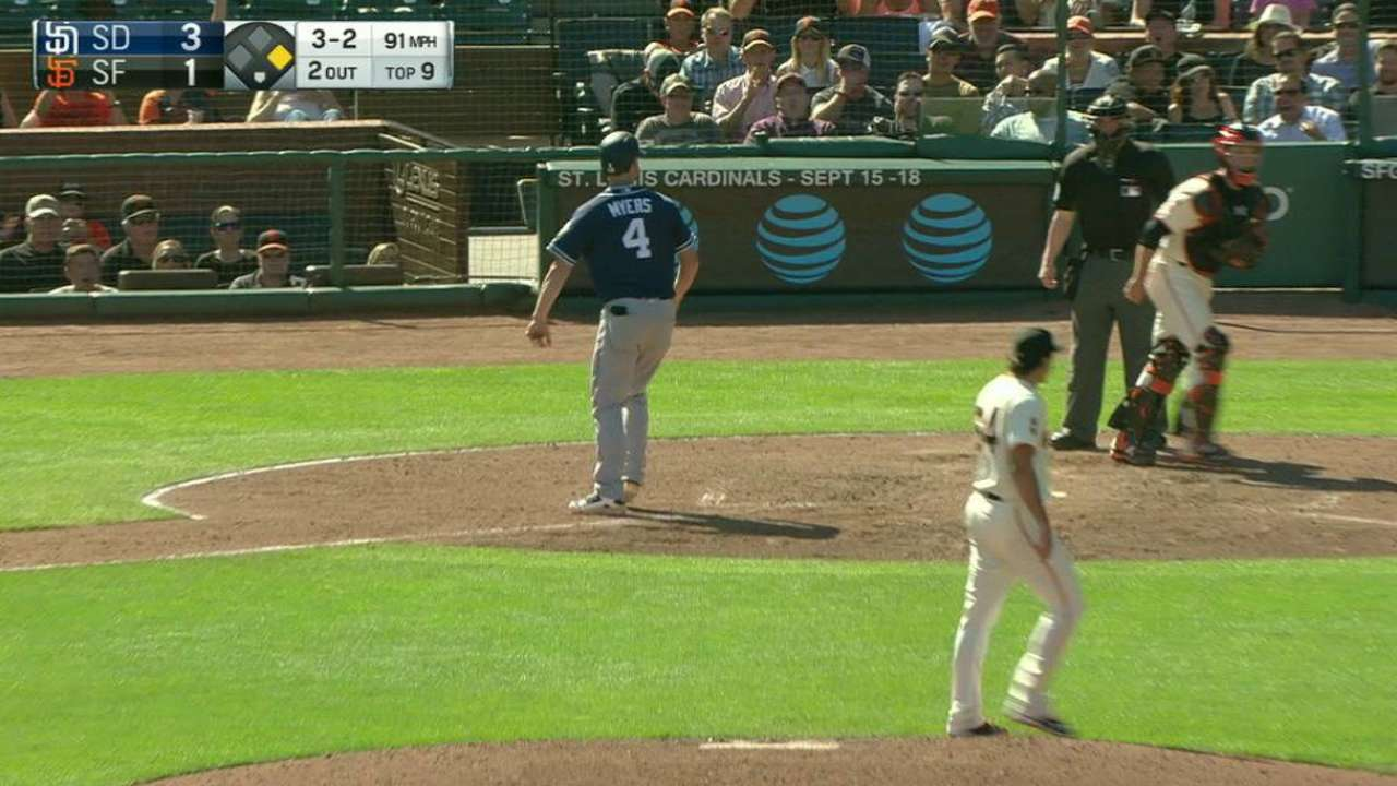 Law strikes out Myers
