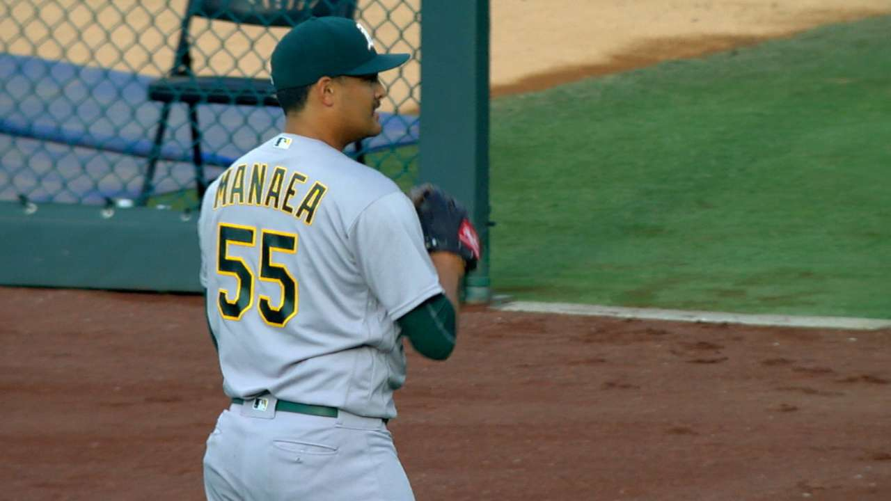 Manaea's first start in KC a successful one