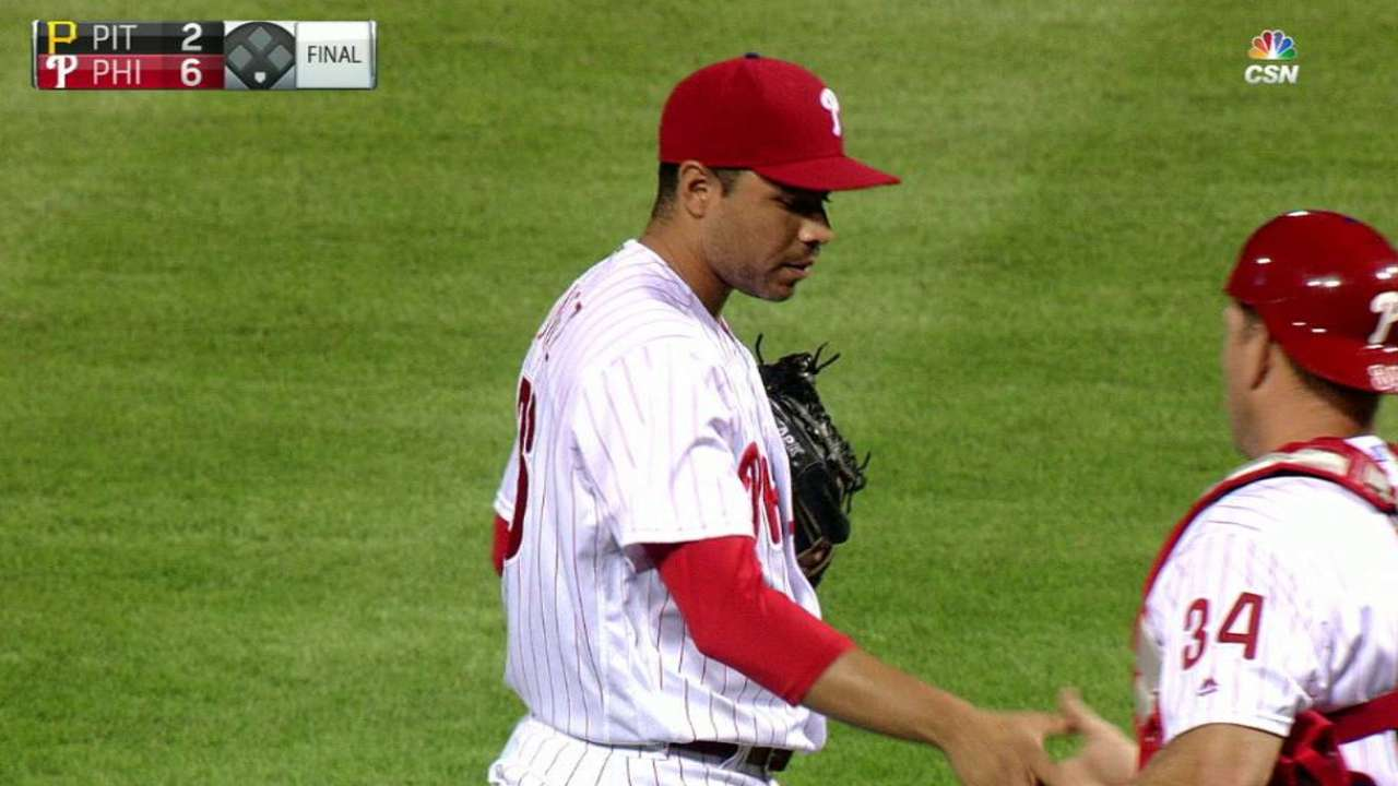 Gomez still Phils' closer, but will get break