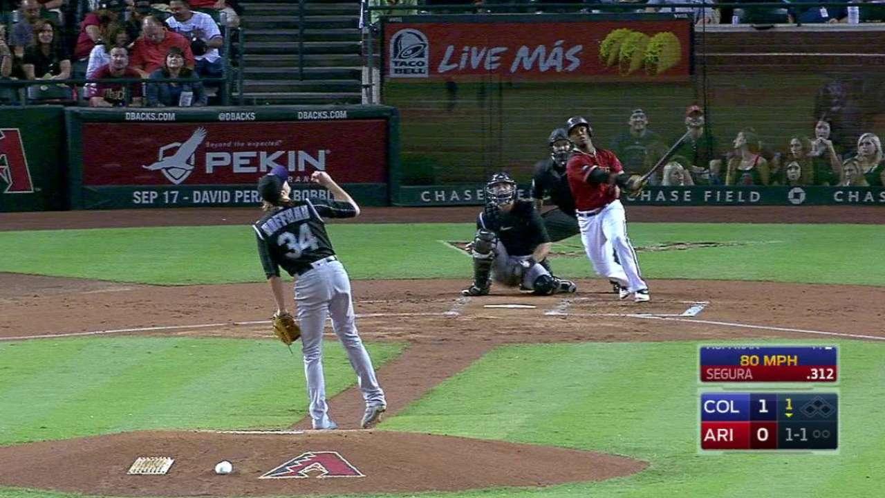 Segura's mammoth leadoff homer