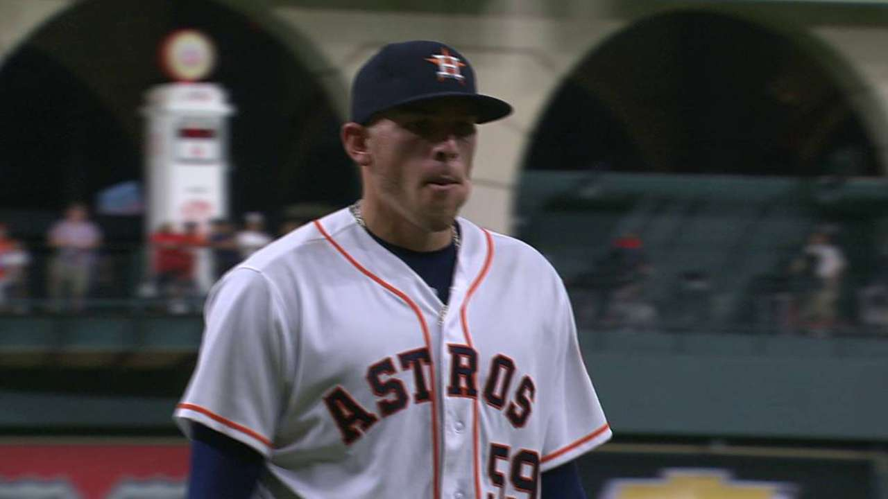 Musgrove strikes out Odor