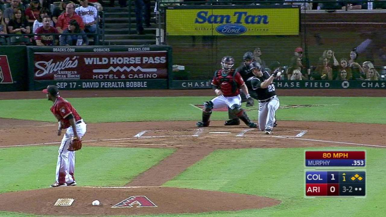 De La Rosa strikes out Murphy