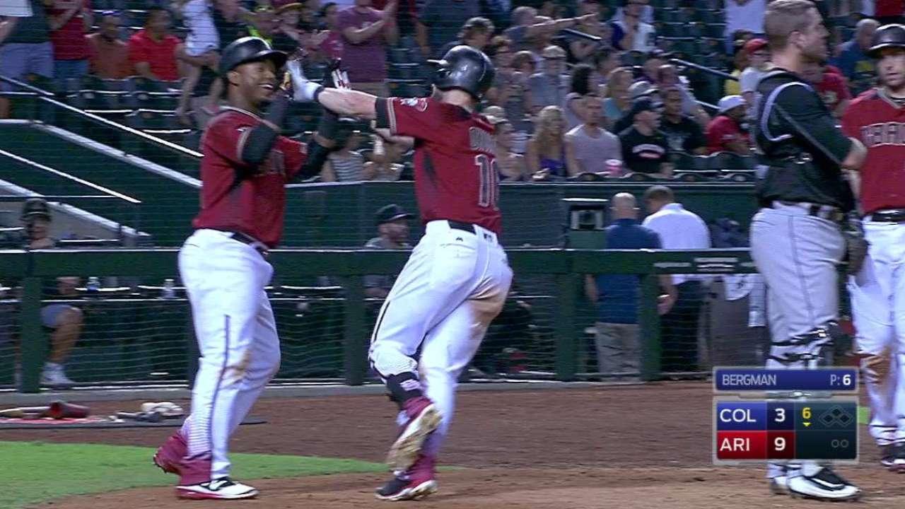 Owings' two-run homer