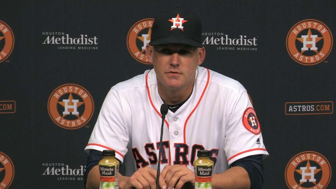Hinch on 8-4 win over Rangers