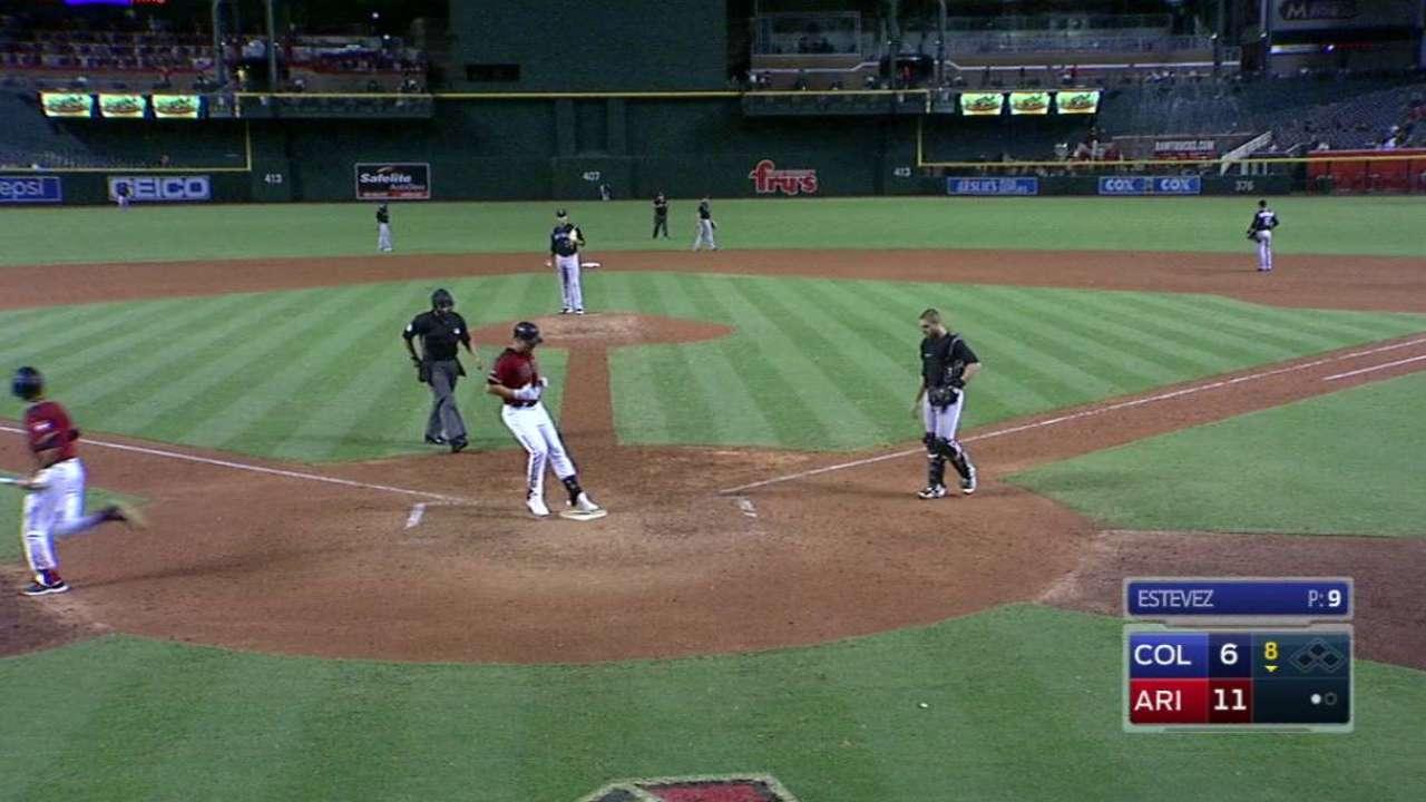 Drury's line-drive home run