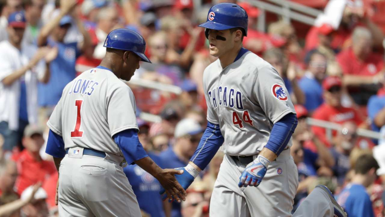 Cubs look to claim NL Central crown on MLB.TV