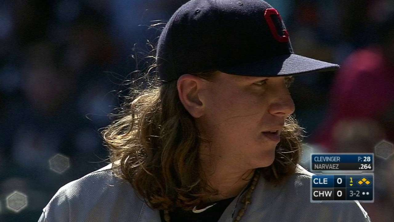 Clevinger gets out of trouble