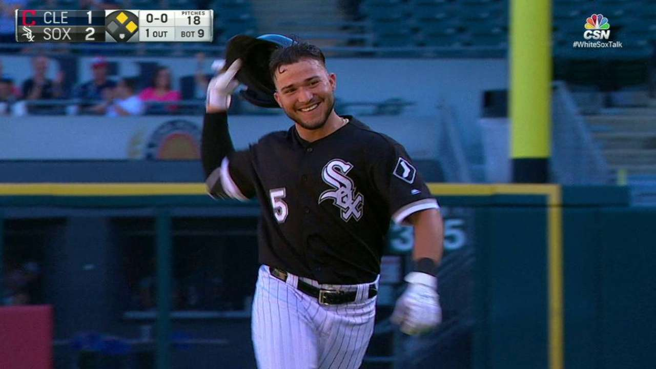 White Sox walk off, but Tribe's magic number at 11