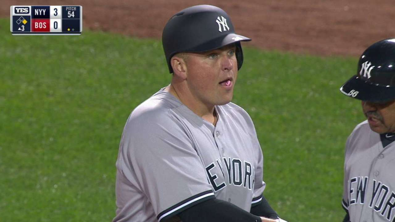 Butler wastes no time giving Yanks a boost