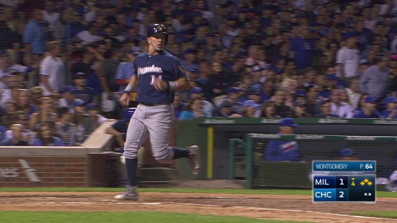 Arcia's two-run double to left