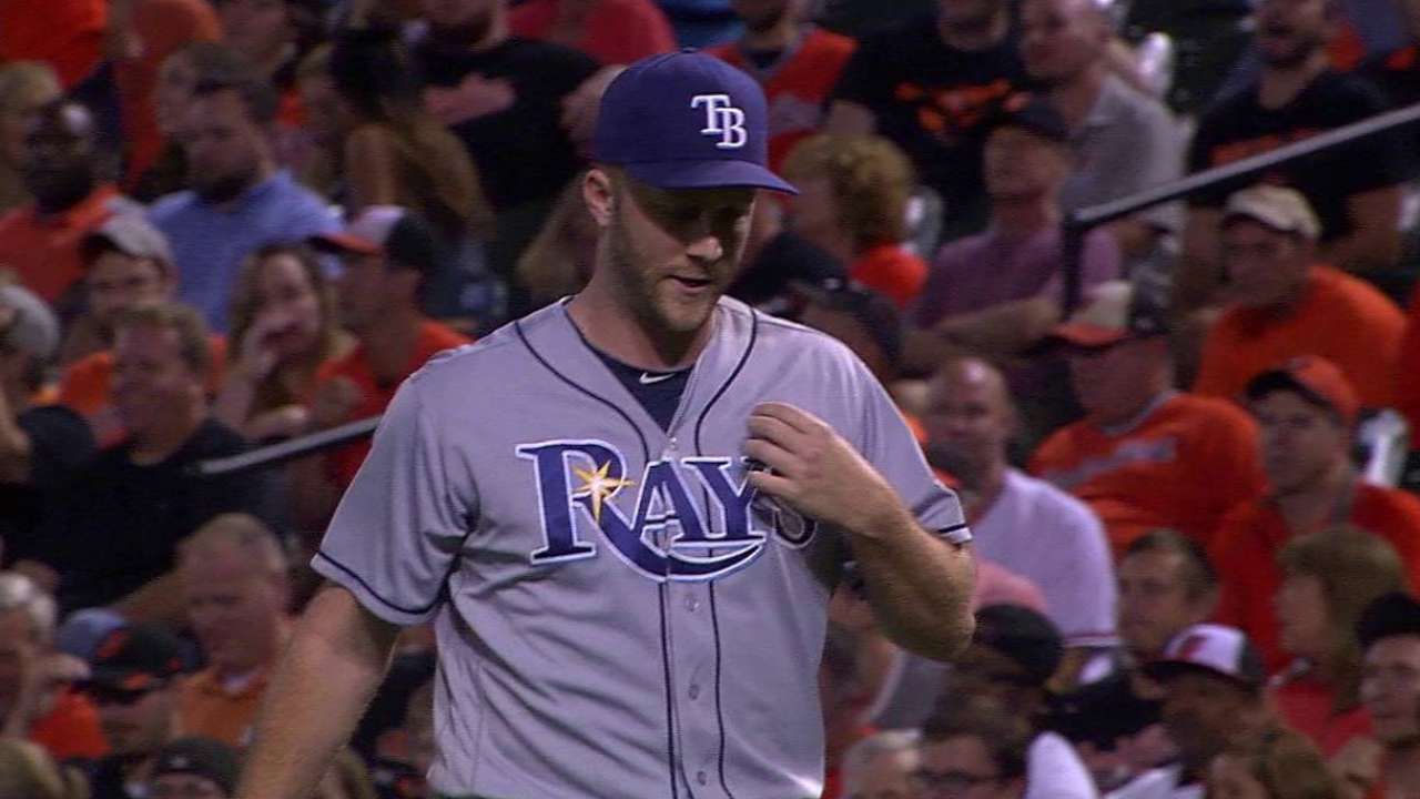 Rays expect to be without Boxberger for Opening Day