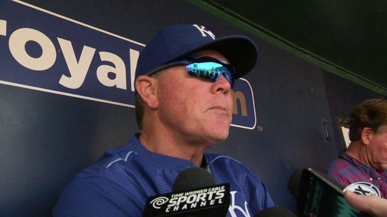Vargas to rejoin Royals' rotation on Saturday