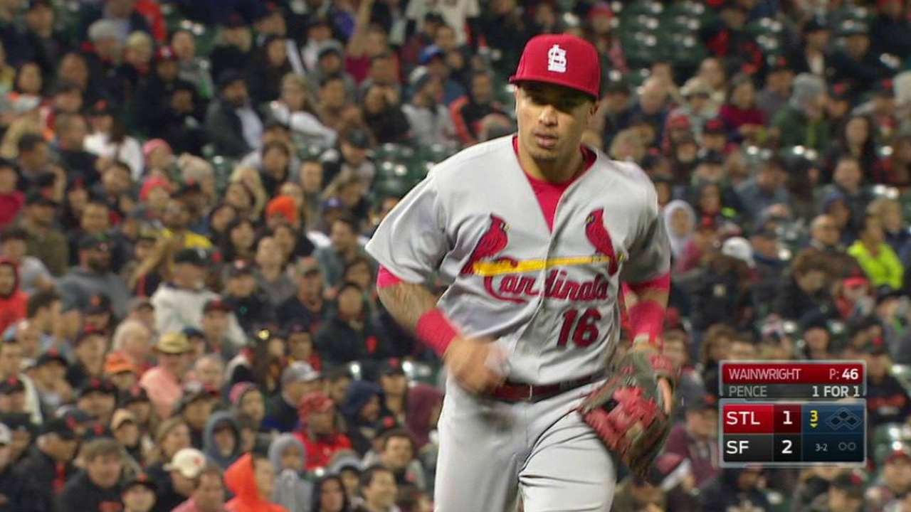Cards counting on refocused Wong at second