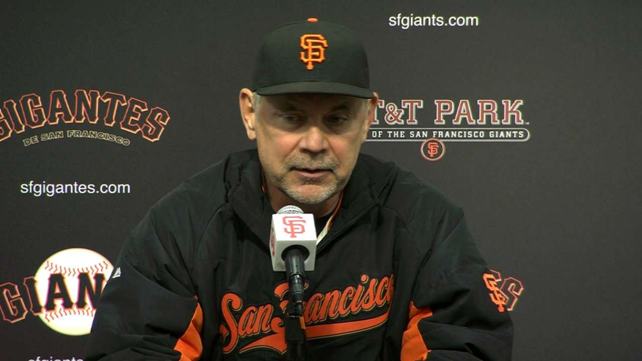 Bruce Bochy on 6-2 win