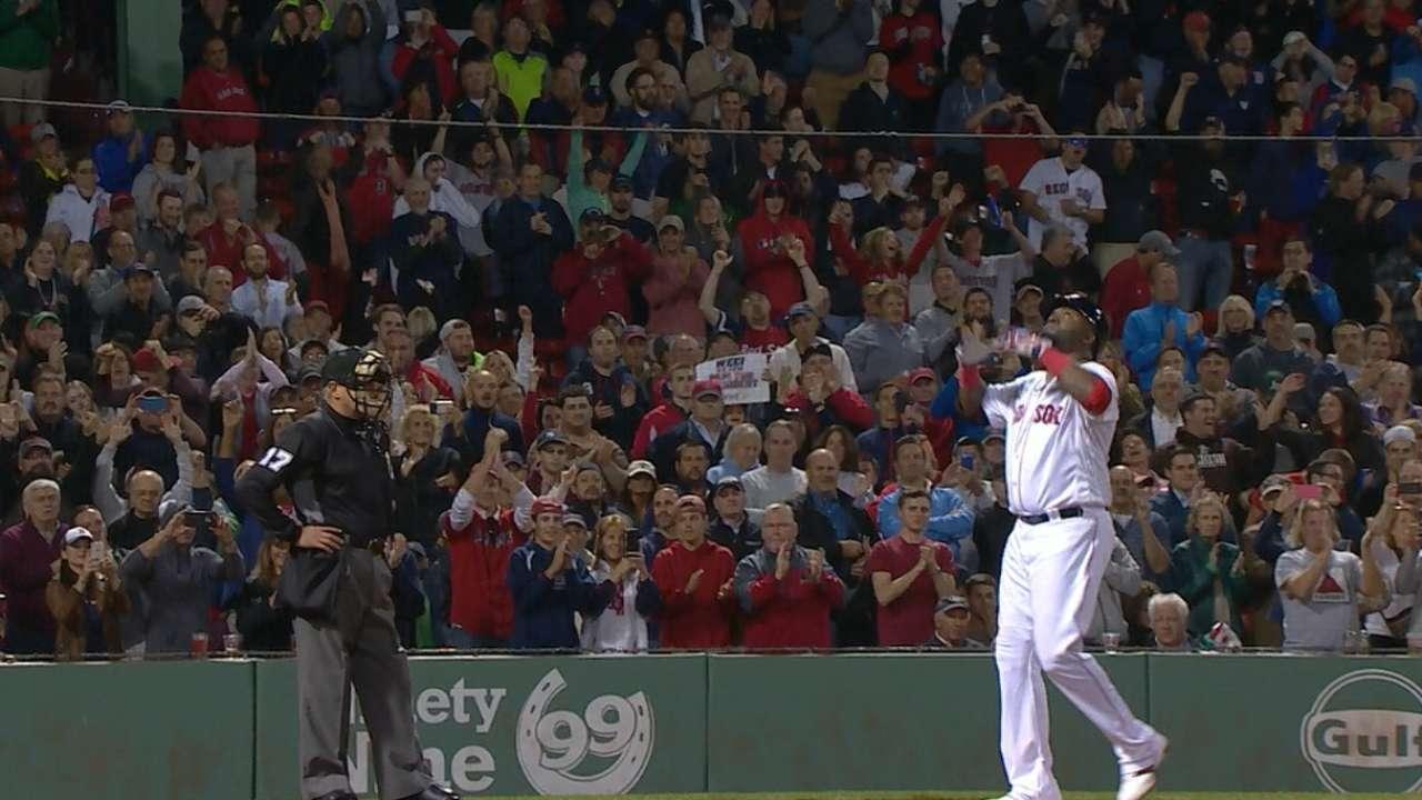 De ahora en adelante, David Ortiz jugaría a diario por Boston