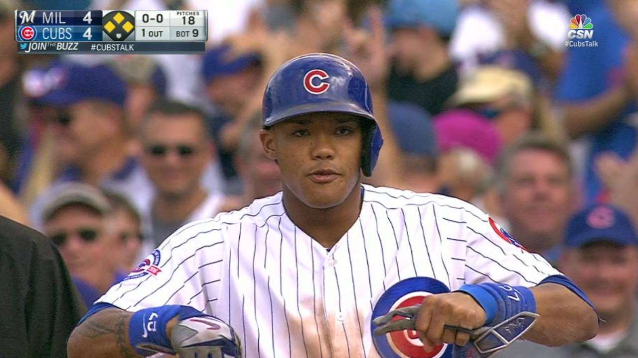 Russell's game-tying single
