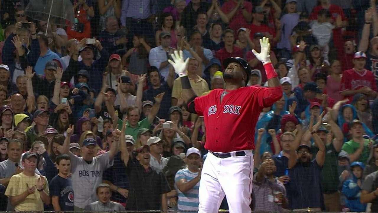 Papi's 522nd career home run