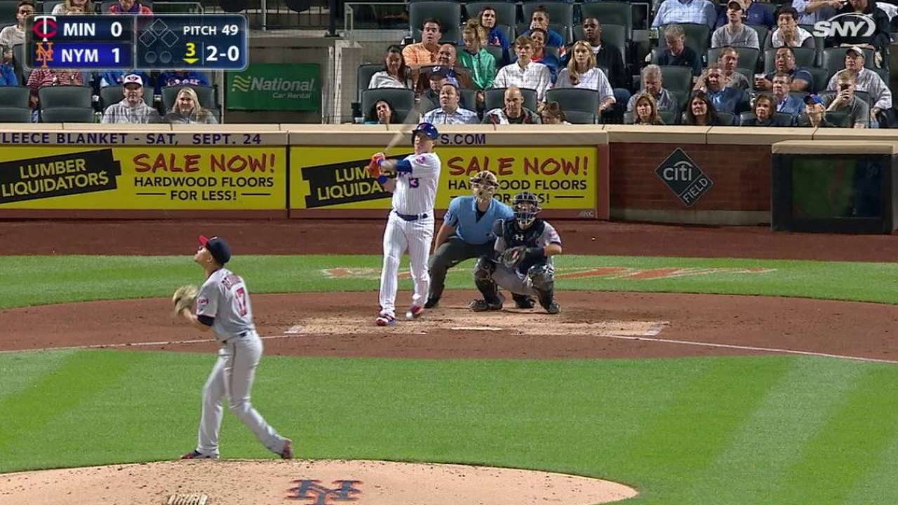 Homers help Mets top Twins, gain WC ground
