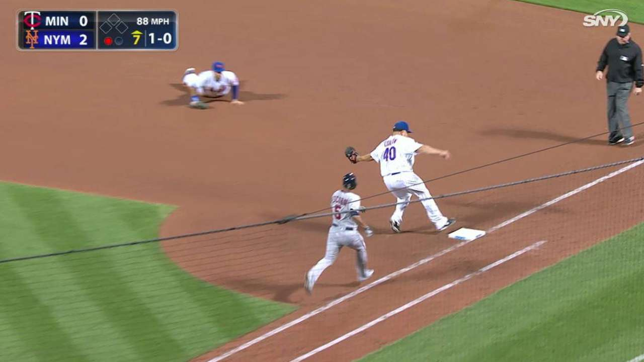 Loney's nice diving stop