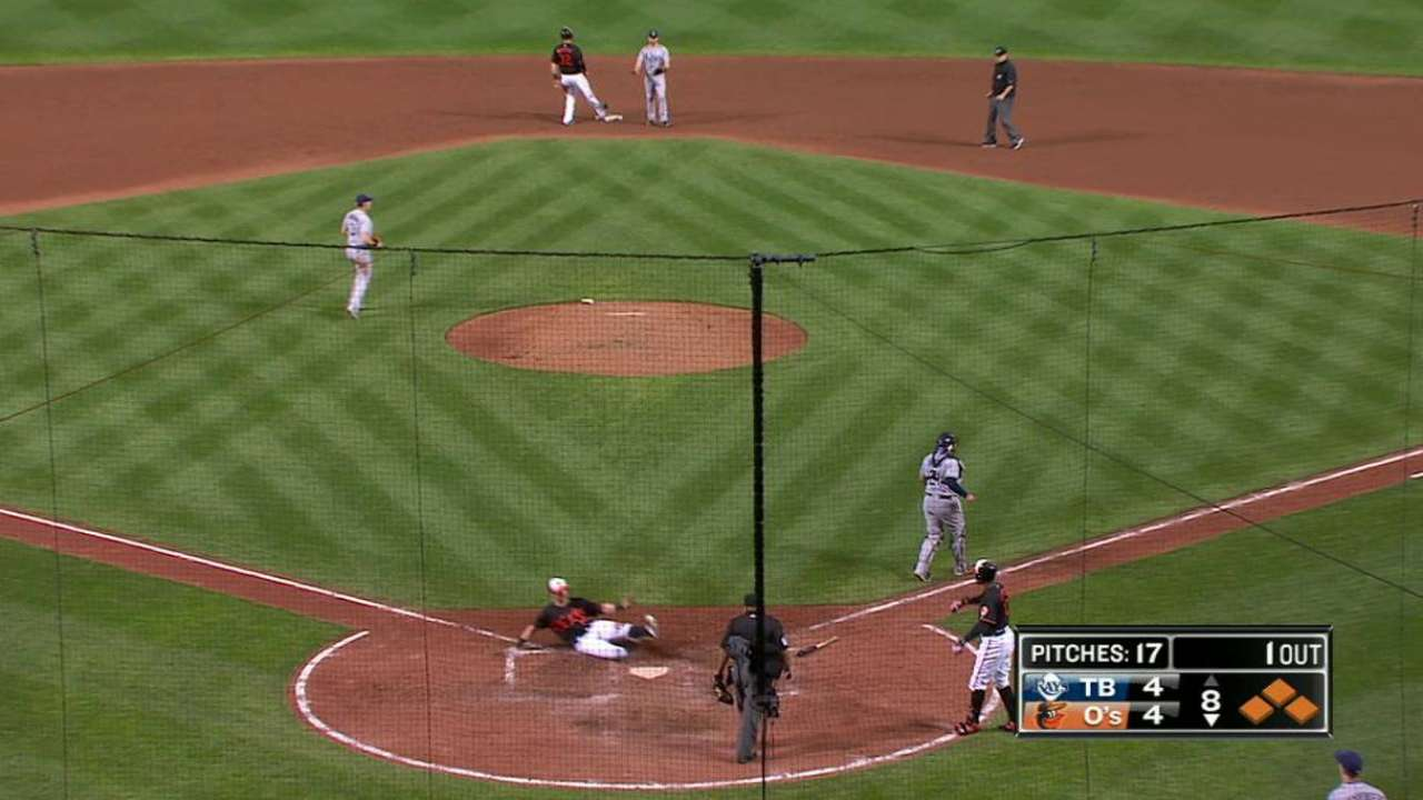 Bourn's go-ahead sacrifice fly