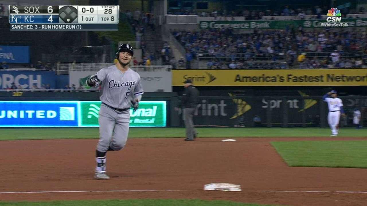Sanchez's go-ahead homer