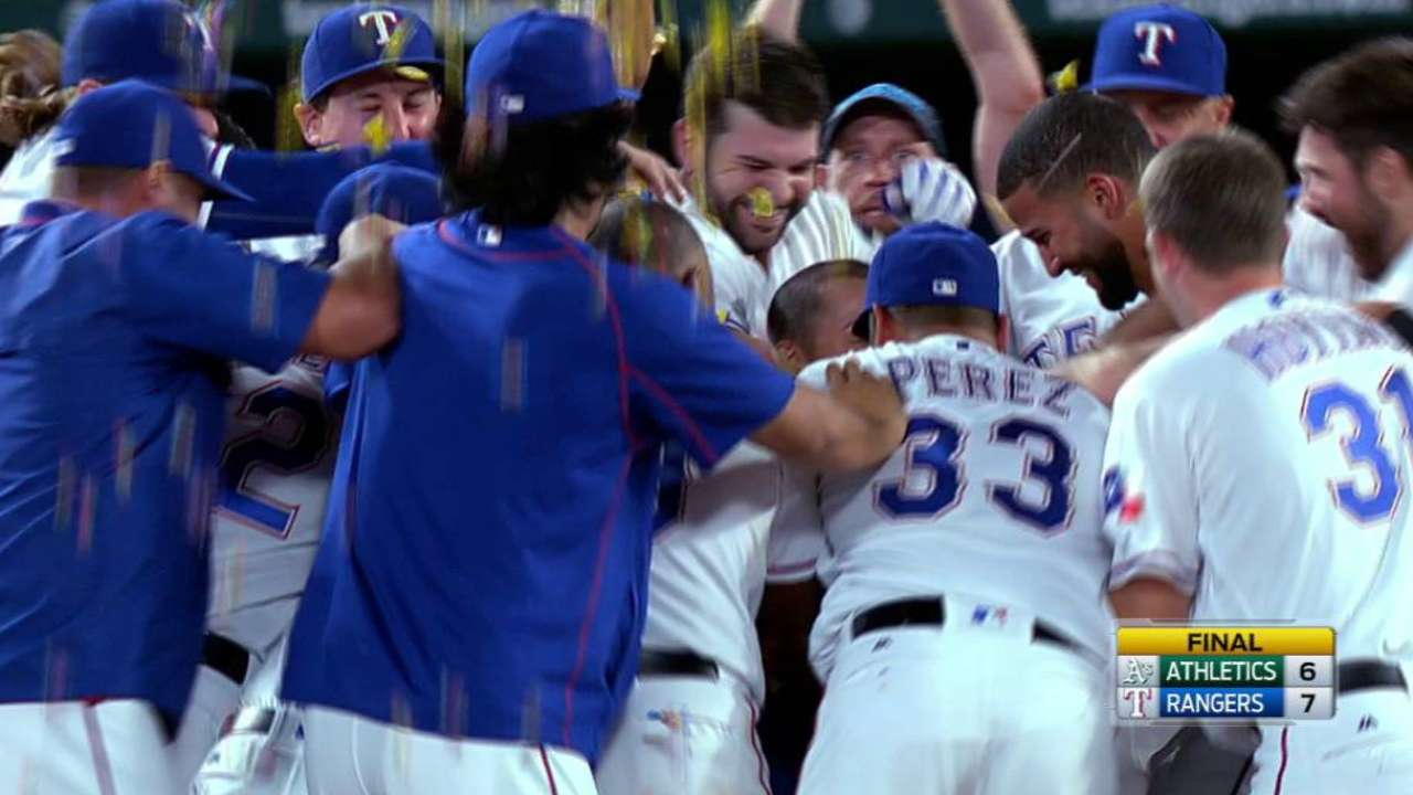 Former Brewers abound in Rangers' dugout