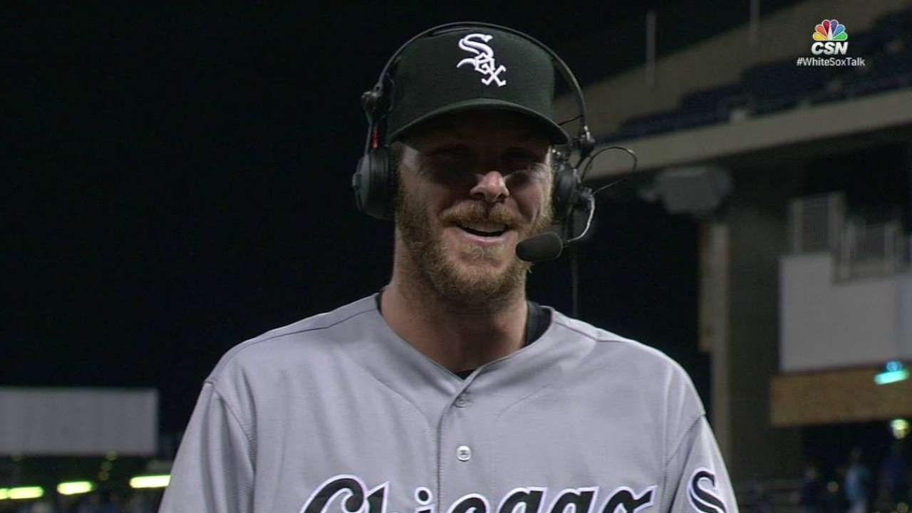White Sox get to celebrate for change in KC