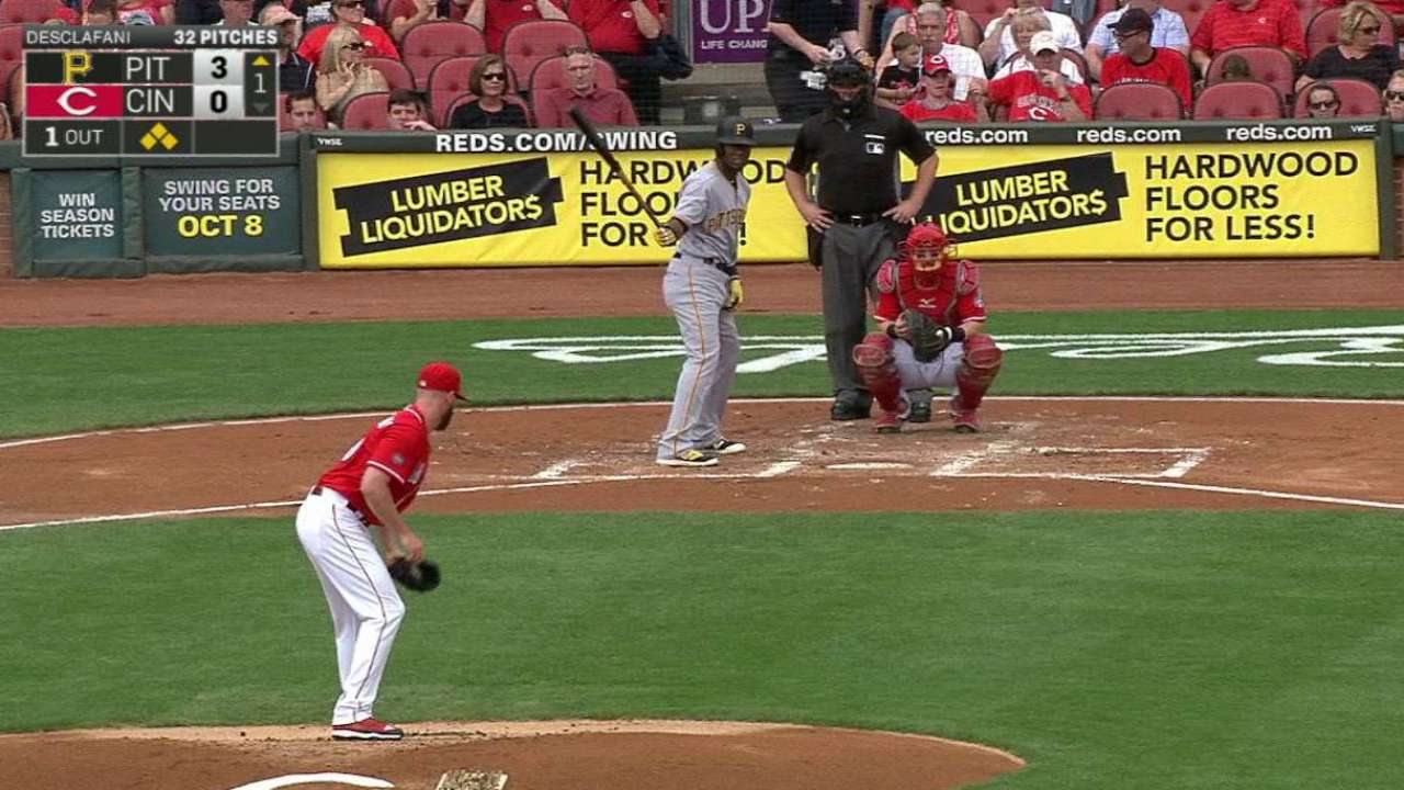 Hanson's RBI fielder's choice